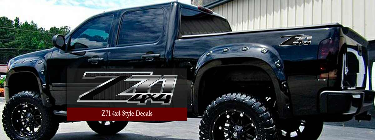Z Silverado Truck Decals Chevy GMC Sierra Stickers - Chevy silverado stickers